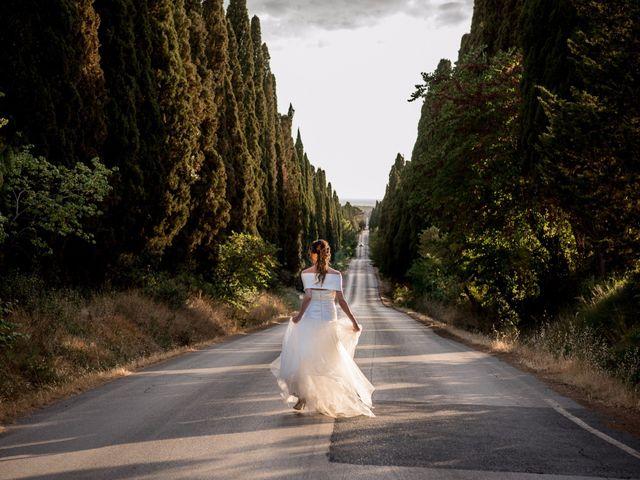 Il matrimonio di Enrico e Stefania a Castagneto Carducci, Livorno 61