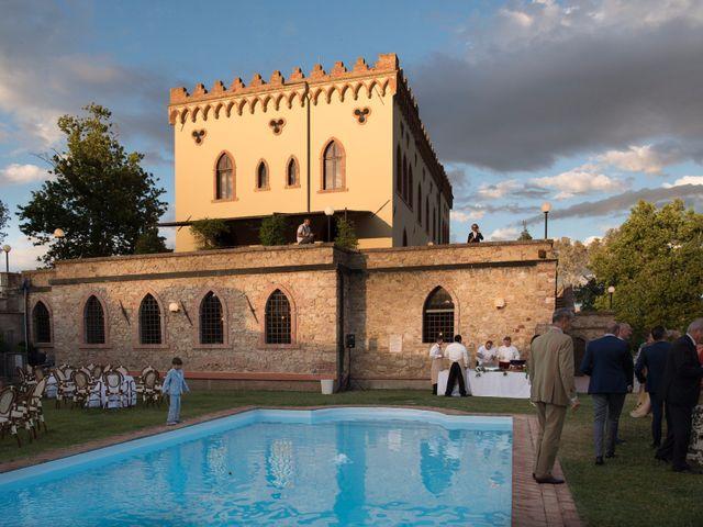 Il matrimonio di Enrico e Stefania a Castagneto Carducci, Livorno 69