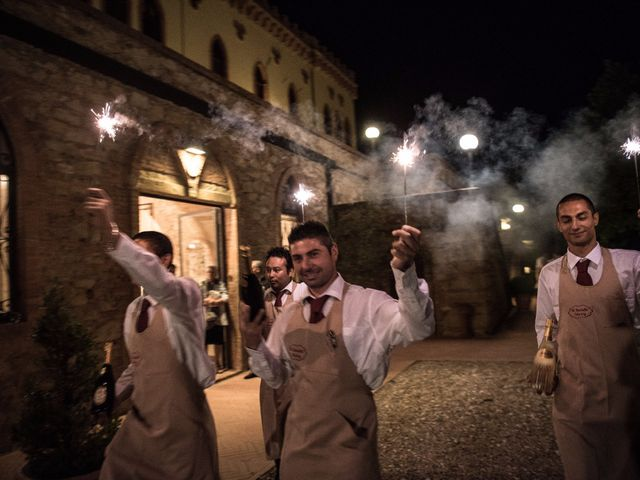 Il matrimonio di Enrico e Stefania a Castagneto Carducci, Livorno 80