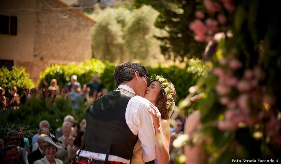 Il matrimonio di Tom e Sarah a Chianni, Pisa
