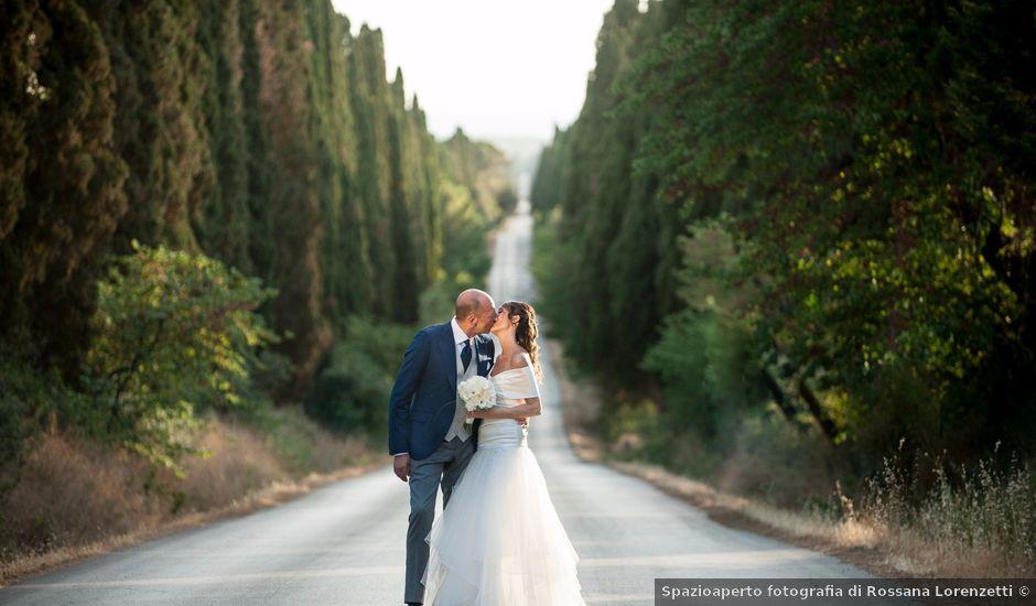 Il matrimonio di Enrico e Stefania a Castagneto Carducci, Livorno