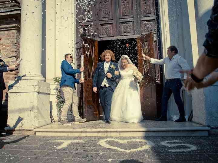 le nozze di Sara e Terence