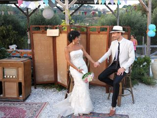 Le nozze di Vera e Tanguy