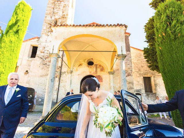 Il matrimonio di Giuseppe e Cristina a Belgirate, Verbania 9