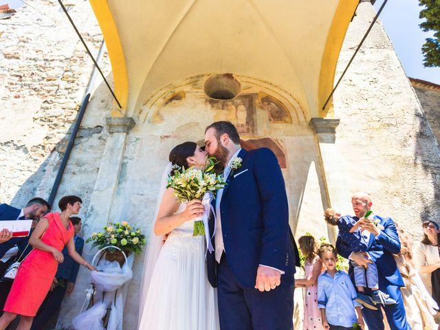 Il matrimonio di Giuseppe e Cristina a Belgirate, Verbania 19
