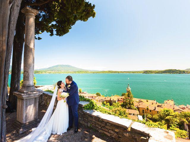 Il matrimonio di Giuseppe e Cristina a Belgirate, Verbania 20