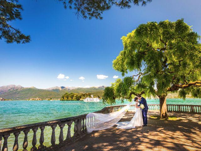 Il matrimonio di Giuseppe e Cristina a Belgirate, Verbania 1