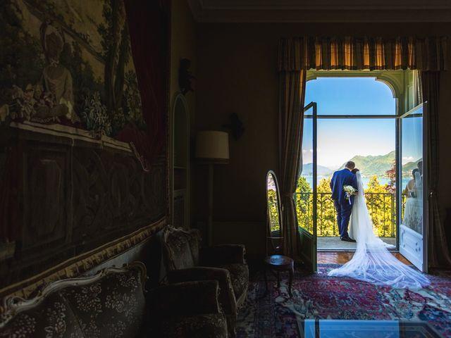 Il matrimonio di Giuseppe e Cristina a Belgirate, Verbania 26