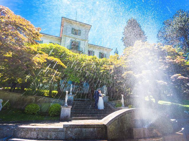 Il matrimonio di Giuseppe e Cristina a Belgirate, Verbania 31