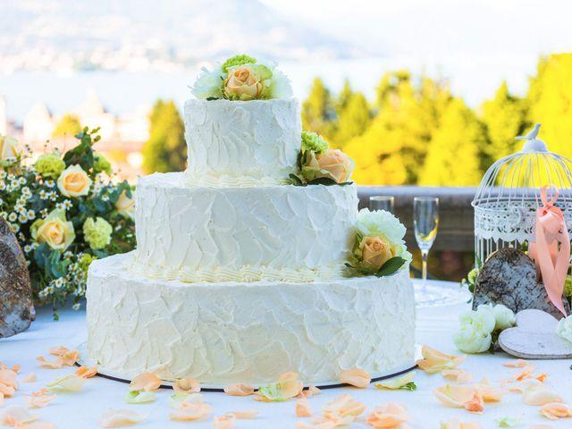Il matrimonio di Giuseppe e Cristina a Belgirate, Verbania 57