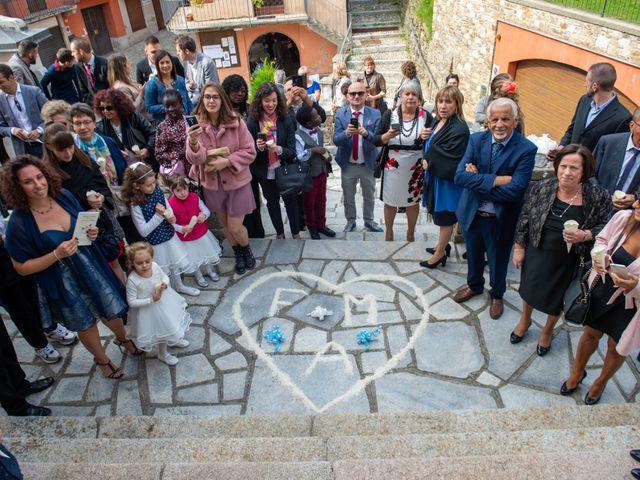 Il matrimonio di Mattia e Federica a Armeno, Novara 17