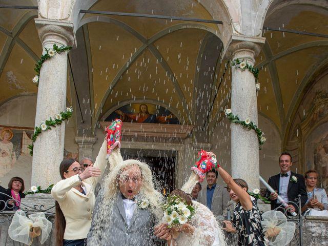 Il matrimonio di Mattia e Federica a Armeno, Novara 18