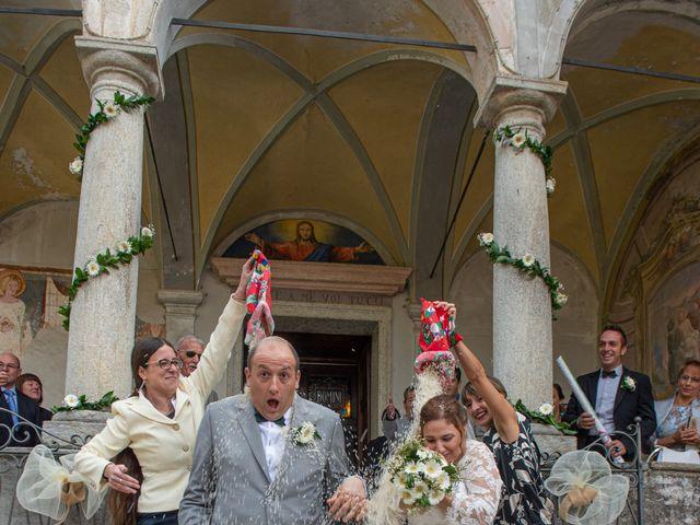 Il matrimonio di Mattia e Federica a Armeno, Novara 19