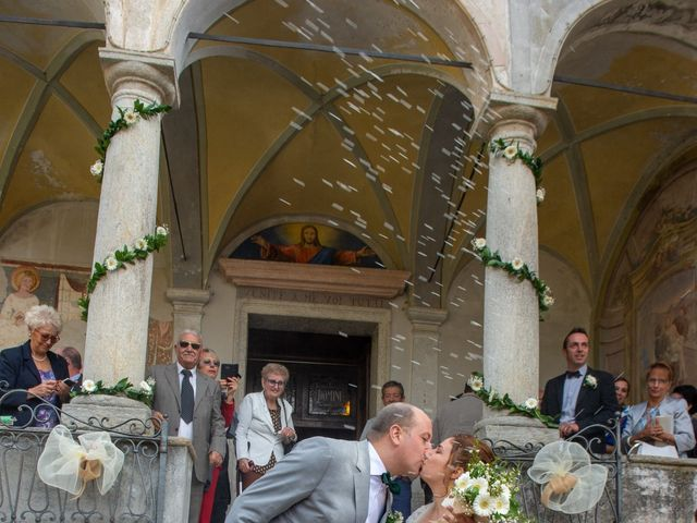 Il matrimonio di Mattia e Federica a Armeno, Novara 20