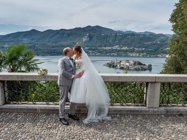 Il matrimonio di Mattia e Federica a Armeno, Novara 23