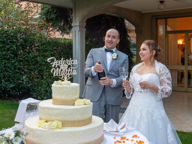Il matrimonio di Mattia e Federica a Armeno, Novara 33