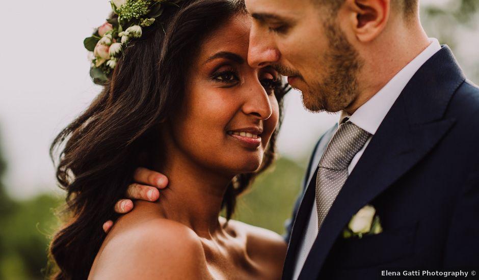 Il matrimonio di Andrea e Eden a Scanzorosciate, Bergamo