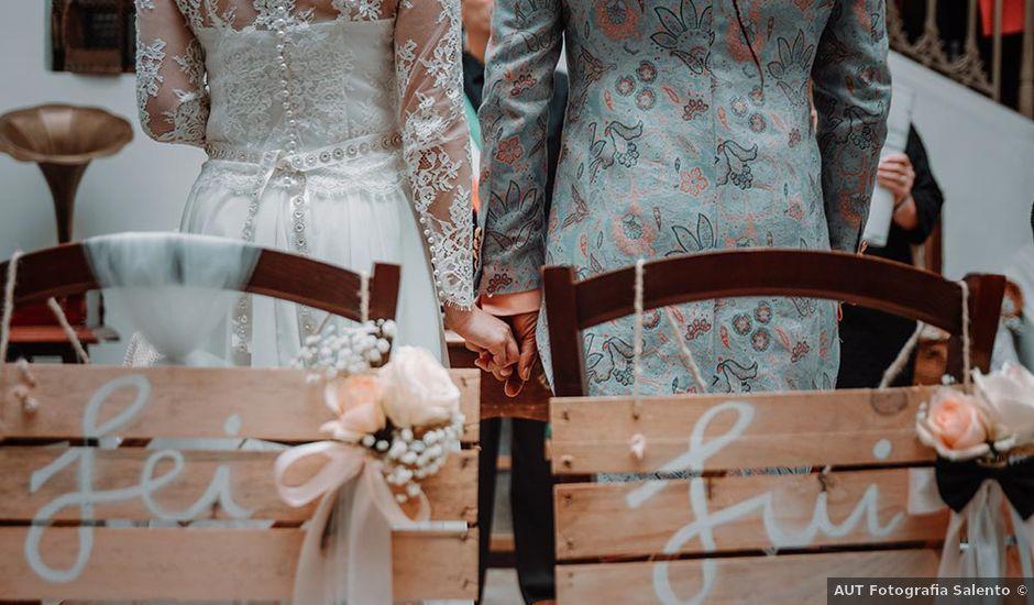 Il matrimonio di Luca e Francesca a Parabita, Lecce