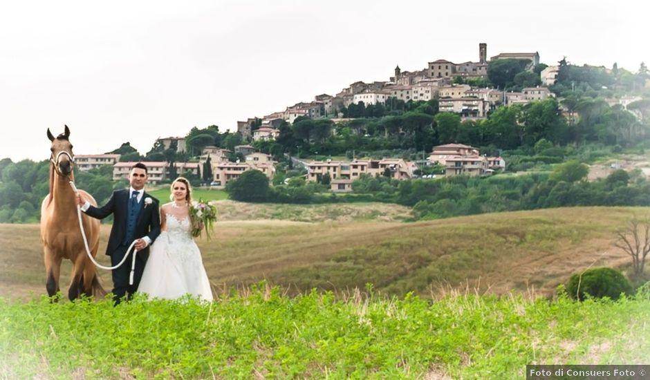 Il matrimonio di Mirko e Giulia a Guardistallo, Pisa