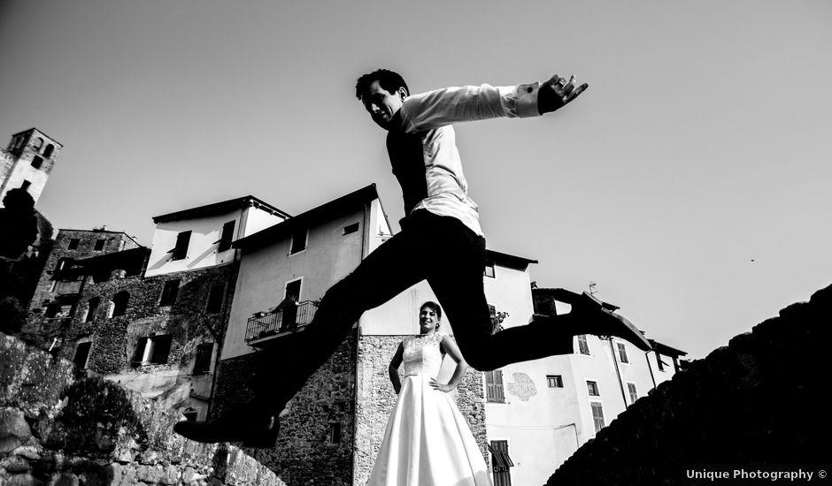 Il matrimonio di Giacomo e Brunella a Bordighera, Imperia