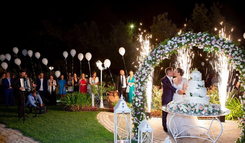 Il matrimonio di Andrea e Clarissa a Pontelatone, Caserta
