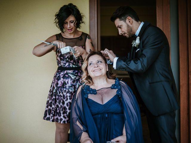 Il matrimonio di Gian Luca e Floriana a Bassano Romano, Viterbo 17