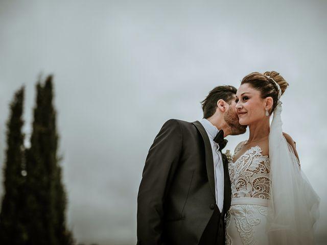 Il matrimonio di Gian Luca e Floriana a Bassano Romano, Viterbo 37