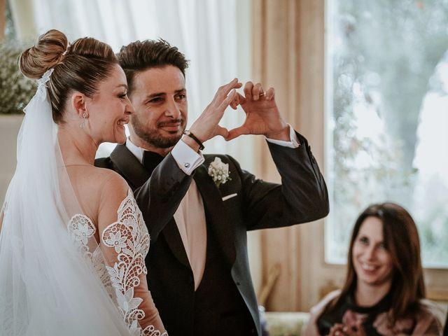 Il matrimonio di Gian Luca e Floriana a Bassano Romano, Viterbo 46