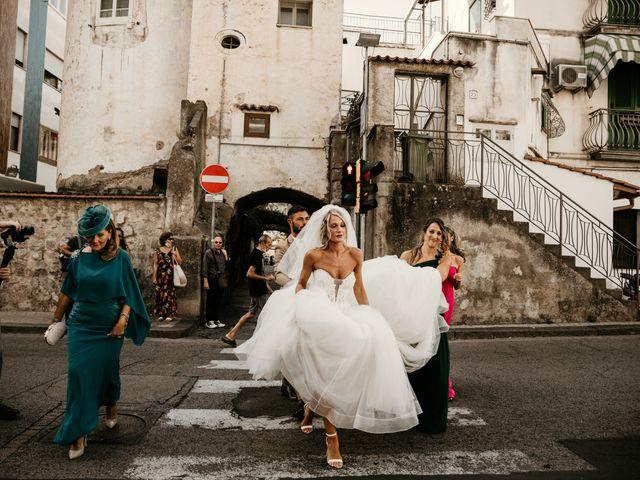 Il matrimonio di Marco e Francesca a Maiori, Salerno 38