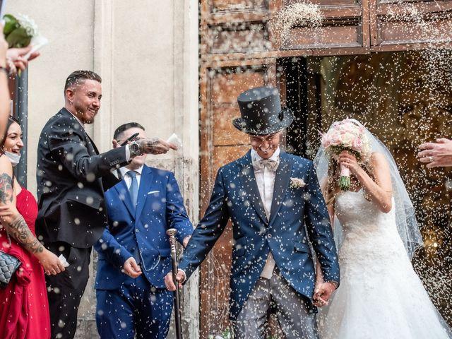 Il matrimonio di Ilaria e Marco a Castelnuovo di Farfa, Rieti 1