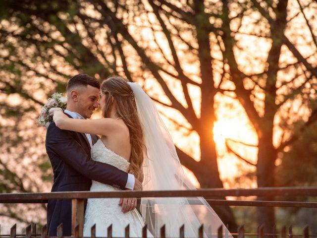 Il matrimonio di Ilaria e Marco a Castelnuovo di Farfa, Rieti 2