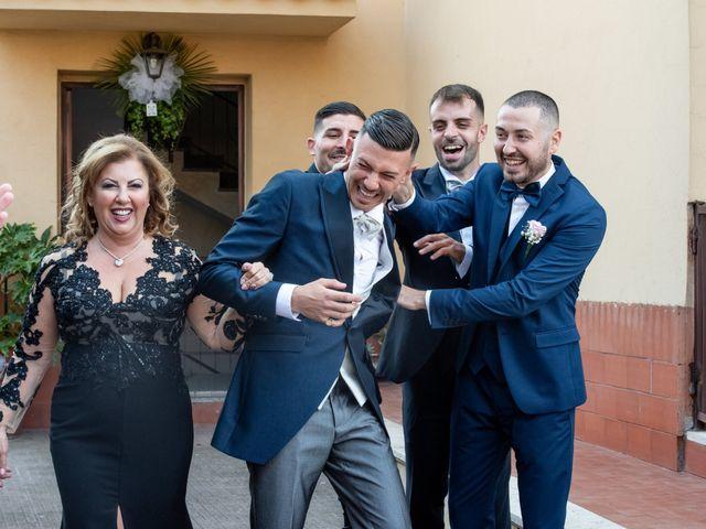 Il matrimonio di Ilaria e Marco a Castelnuovo di Farfa, Rieti 14