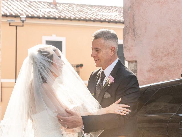 Il matrimonio di Ilaria e Marco a Castelnuovo di Farfa, Rieti 15