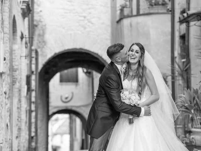Il matrimonio di Ilaria e Marco a Castelnuovo di Farfa, Rieti 17