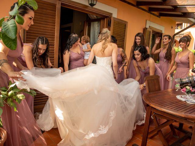 Il matrimonio di Ilaria e Marco a Castelnuovo di Farfa, Rieti 28