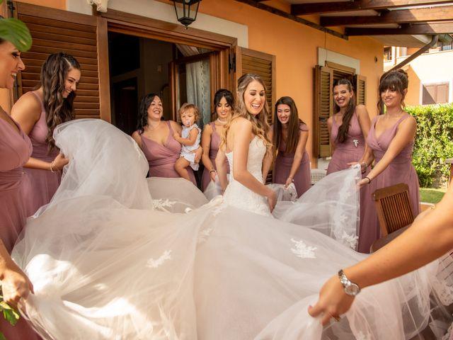 Il matrimonio di Ilaria e Marco a Castelnuovo di Farfa, Rieti 29
