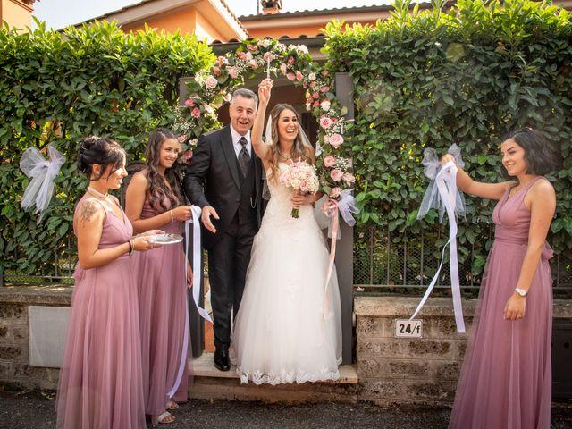 Il matrimonio di Ilaria e Marco a Castelnuovo di Farfa, Rieti 32