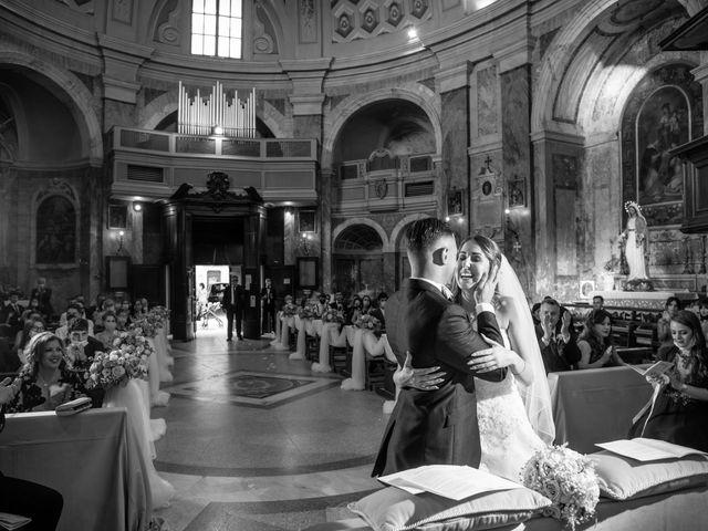 Il matrimonio di Ilaria e Marco a Castelnuovo di Farfa, Rieti 34