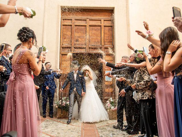 Il matrimonio di Ilaria e Marco a Castelnuovo di Farfa, Rieti 37