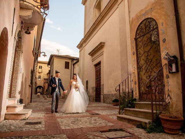 Il matrimonio di Ilaria e Marco a Castelnuovo di Farfa, Rieti 41