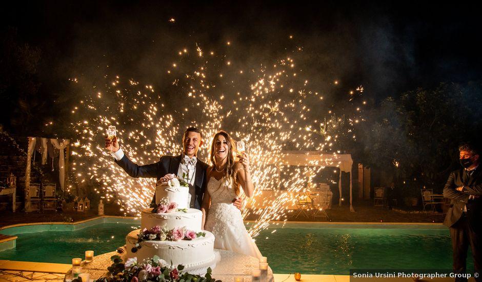 Il matrimonio di Ilaria e Marco a Castelnuovo di Farfa, Rieti