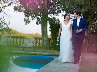 Le nozze di Alexandra e Pierre