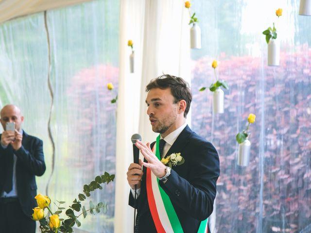 Il matrimonio di Luca e Stefania a Vergiate, Varese 86