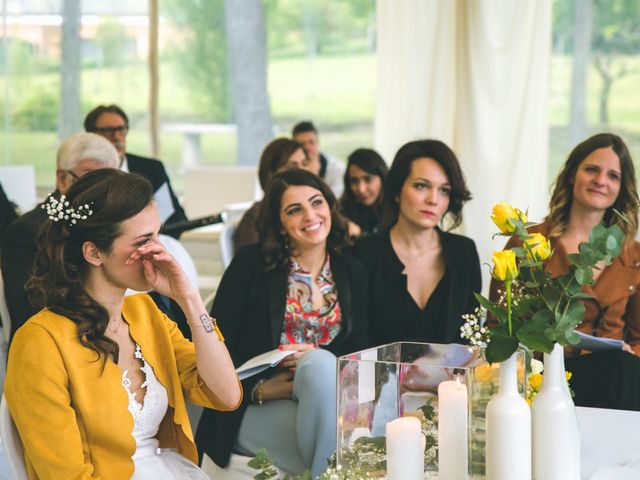 Il matrimonio di Luca e Stefania a Vergiate, Varese 131