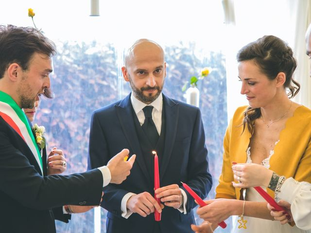 Il matrimonio di Luca e Stefania a Vergiate, Varese 134