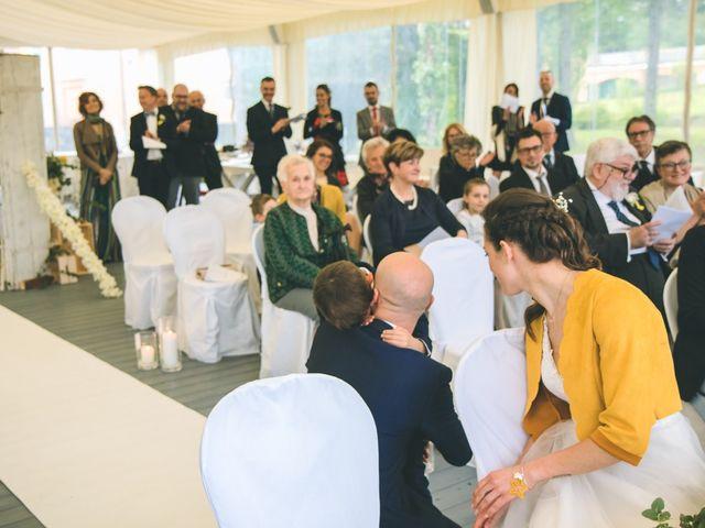 Il matrimonio di Luca e Stefania a Vergiate, Varese 146