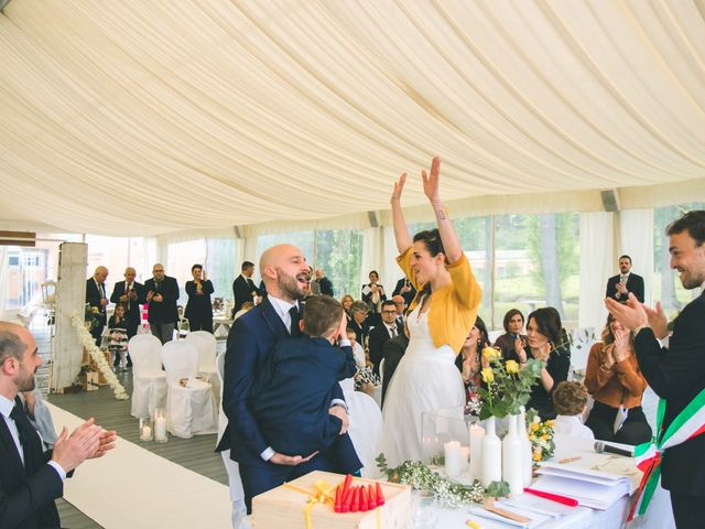 Il matrimonio di Luca e Stefania a Vergiate, Varese 157