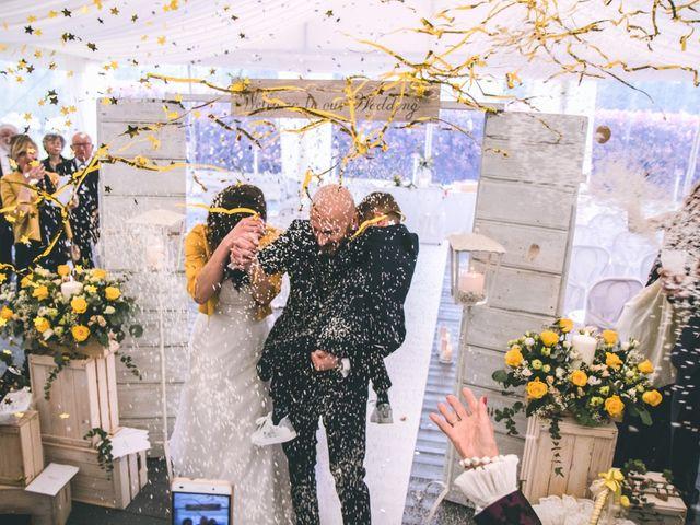 Il matrimonio di Luca e Stefania a Vergiate, Varese 159