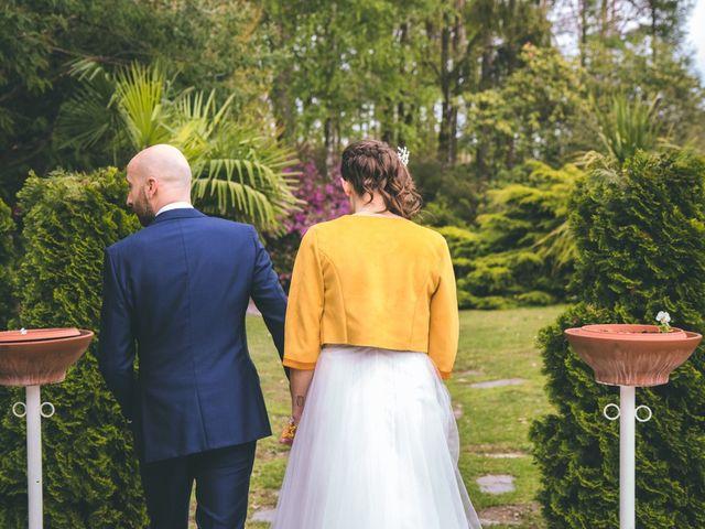 Il matrimonio di Luca e Stefania a Vergiate, Varese 205