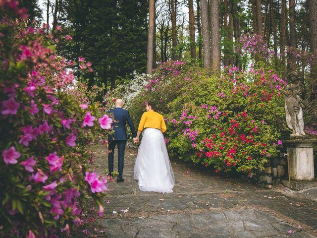 Il matrimonio di Luca e Stefania a Vergiate, Varese 208